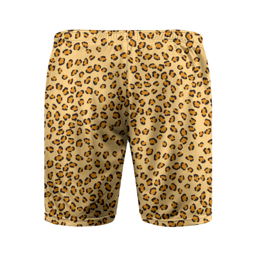 Мужские шорты 3D спортивные  Фото 02, Окрас леопарда