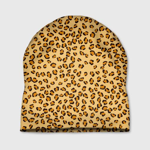 Шапка 3D  Фото 01, Окрас леопарда