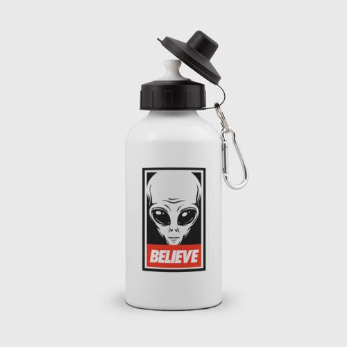 Бутылка спортивная I want To Believe UFO - Obey