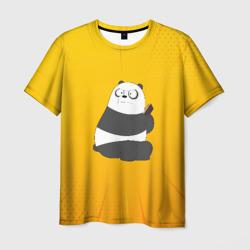 Панда с телефоном