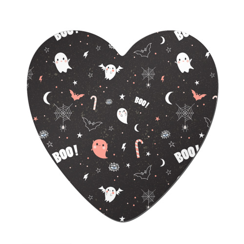 Магнит виниловый сердце  Фото 01, Хэллоуин