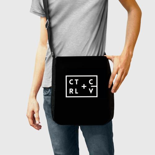 Сумка через плечо Ctrl-c,Ctrl-v Программирование Фото 01