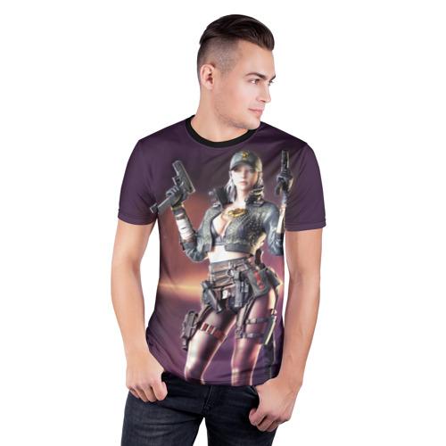Мужская футболка 3D спортивная Crossfire Zero Фото 01