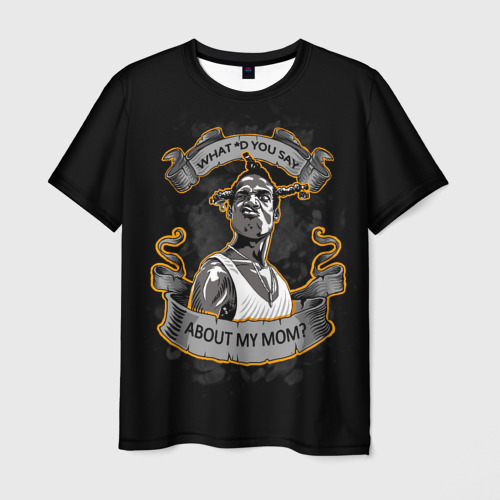 Мужская футболка 3D Loc Dog / Южный централ