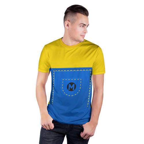 Мужская футболка 3D спортивная  Фото 03, Костюм миньона