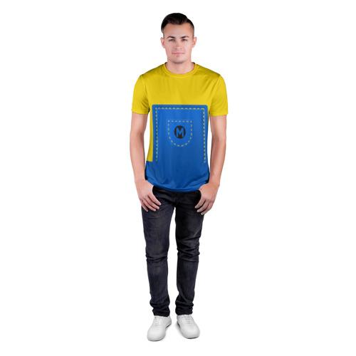 Мужская футболка 3D спортивная  Фото 04, Костюм миньона