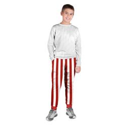 Костюм пирата в красную полоску - штаны