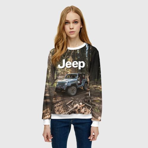 Женский свитшот 3D Jeep Фото 01
