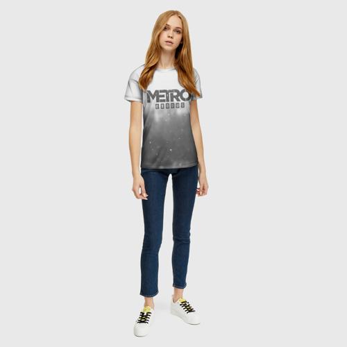 Женская футболка 3D METRO WINTER Фото 01