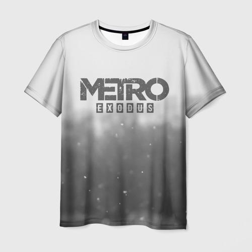Мужская футболка 3D METRO WINTER Фото 01