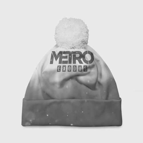 Шапка 3D c помпоном METRO WINTER Фото 01