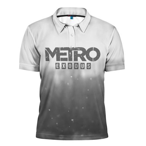 Мужская рубашка поло 3D METRO WINTER Фото 01