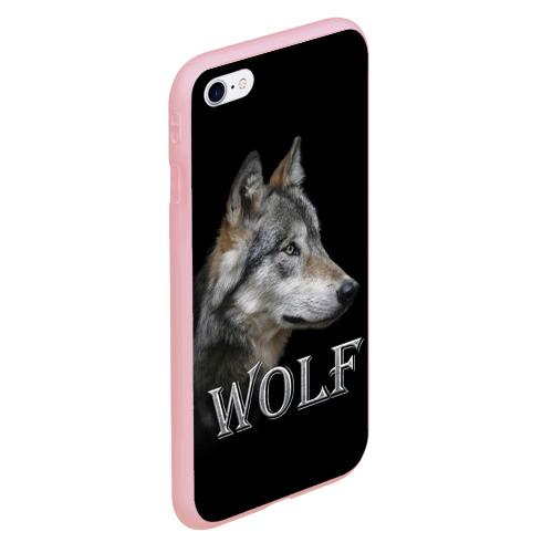Чехол для iPhone 6/6S Plus матовый Wolf  Фото 01
