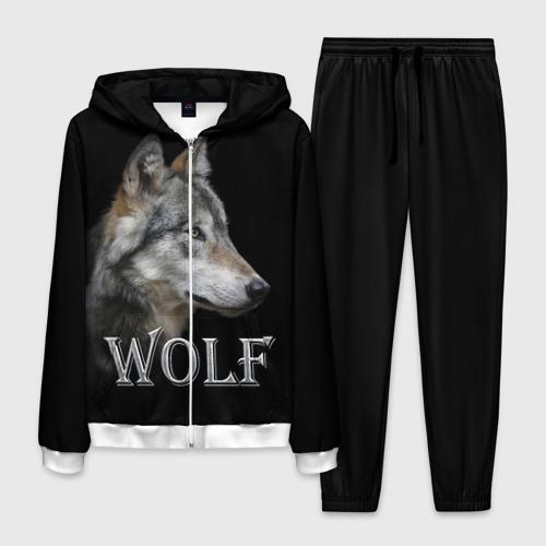 Мужской костюм 3D Wolf  Фото 01