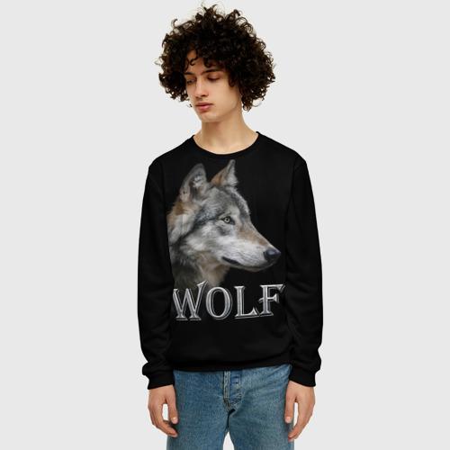 Мужской свитшот 3D Wolf  Фото 01