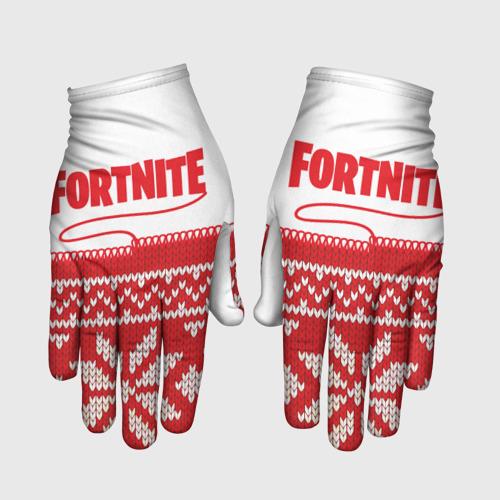 Перчатки 3D Fortnite Новогодний S фото