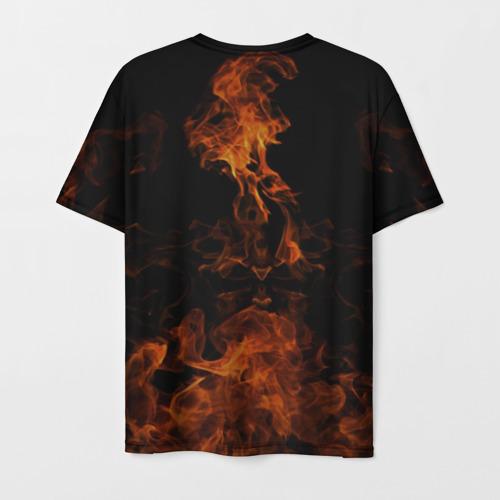 Мужская футболка 3D Пожарный Фото 01