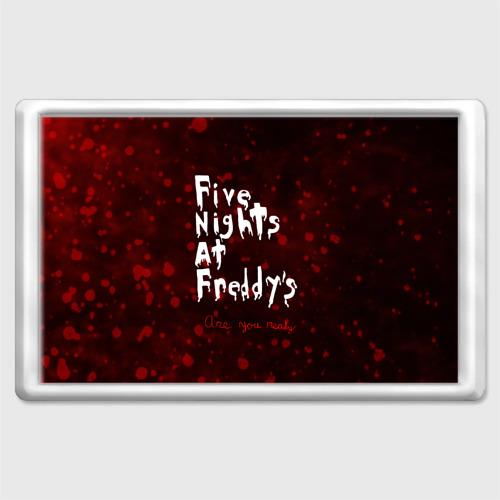 Магнит 45*70  Фото 01, Five Nights at Freddy's