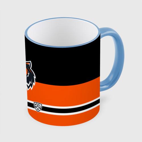 Кружка с полной запечаткой ХК Амур Хабаровск orange&black