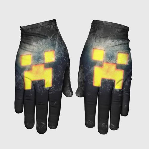 Перчатки 3D BLACK Creeper M фото