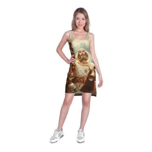 Платье-майка 3D русь Фото 01