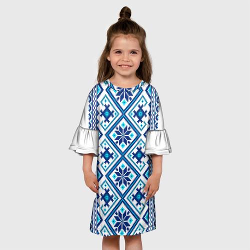 Детское платье 3D  Фото 01, русь