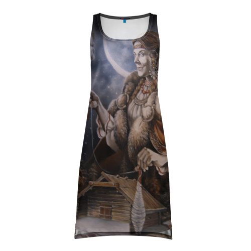 Платье-майка 3D Макошь Фото 01