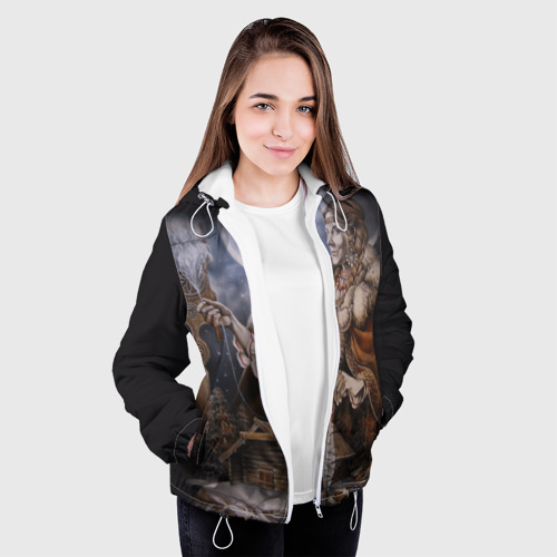 Женская куртка 3D  Фото 04, Макошь