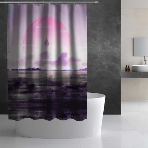Штора 3D для ванной No Man's Sky. Next Фото 01