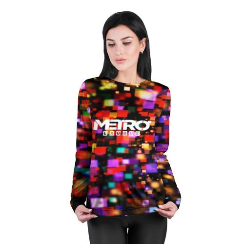 Женский лонгслив 3D для беременных  Фото 04, METRO EXODUS