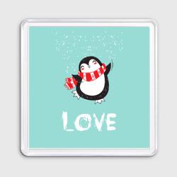 Пингвин LOVE - интернет магазин Futbolkaa.ru