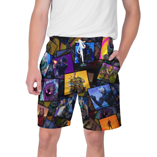 Мужские шорты 3D FORTNITE Фото 01