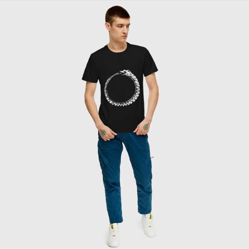 Мужская футболка хлопок Уроборос Фото 01