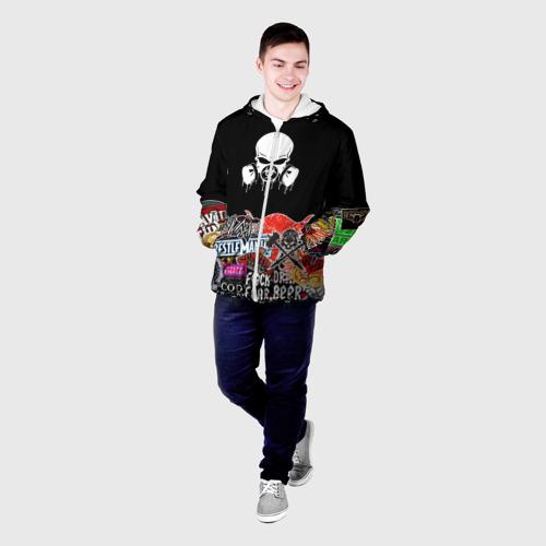 Мужская куртка 3D sticker bombing Фото 01