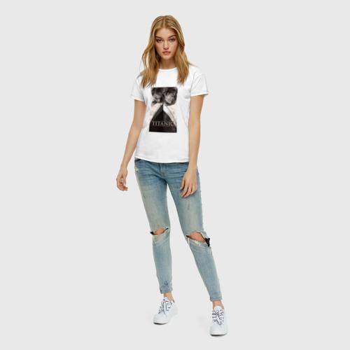 Женская футболка хлопок Титаник Фото 01