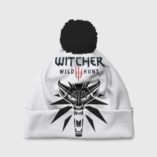 Шапка 3D c помпоном The Witcher 3: Wild Hunt