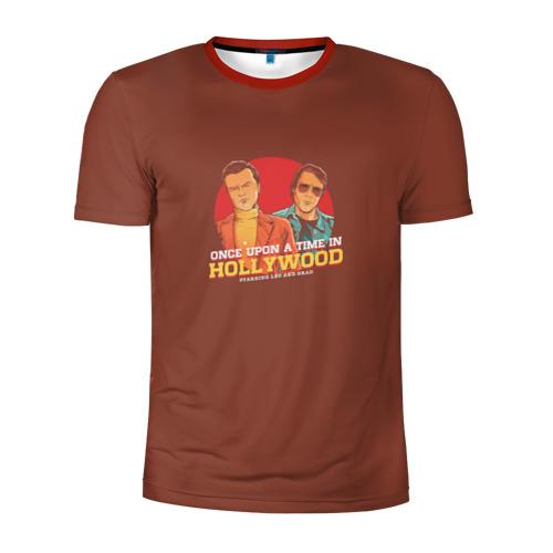 Мужская футболка 3D спортивная  Фото 01, Однажды в Голливуде