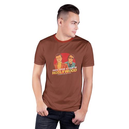 Мужская футболка 3D спортивная  Фото 03, Однажды в Голливуде