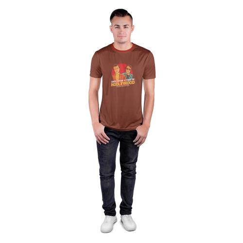 Мужская футболка 3D спортивная  Фото 04, Однажды в Голливуде