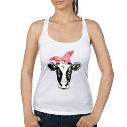 Корова в бандане