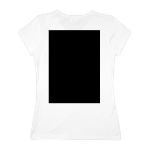 Женская футболка хлопок Line Fuck