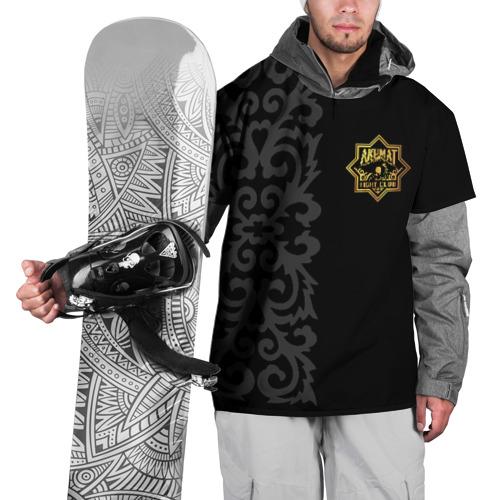 Накидка на куртку 3D  Фото 01, Ахмат и Чеченский Орнамент