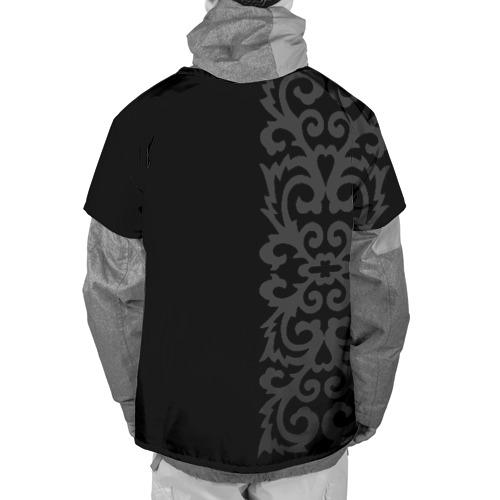 Накидка на куртку 3D  Фото 02, Ахмат и Чеченский Орнамент