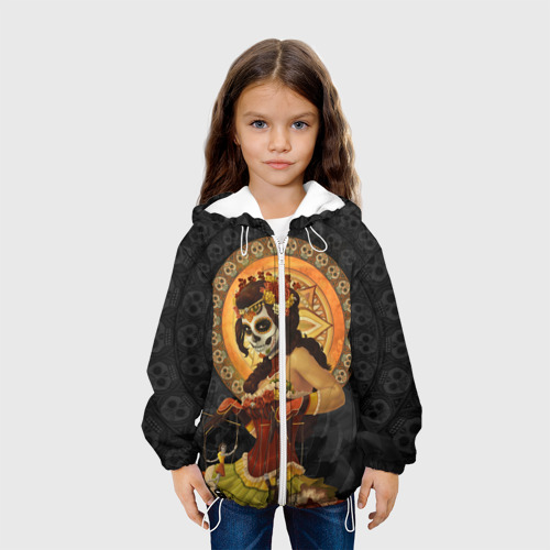 Детская куртка 3D День мёртвых, Мексика Фото 01