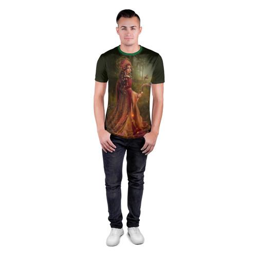 Мужская футболка 3D спортивная  Фото 04, Морена