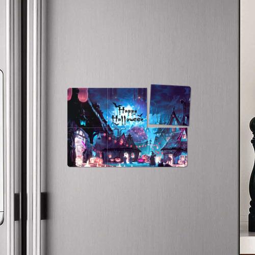 Магнитный плакат 3Х2  Фото 04, Halloween