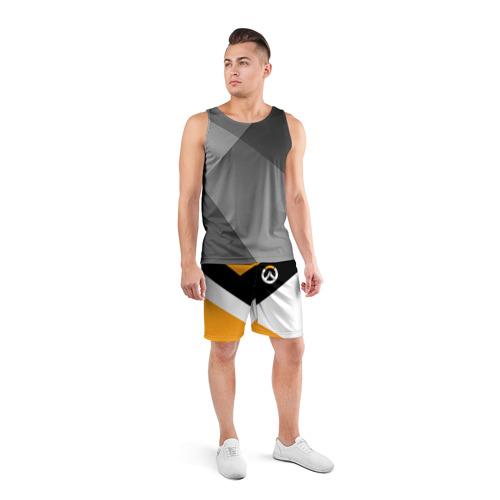 Мужские шорты 3D спортивные  Фото 04, Overwatch