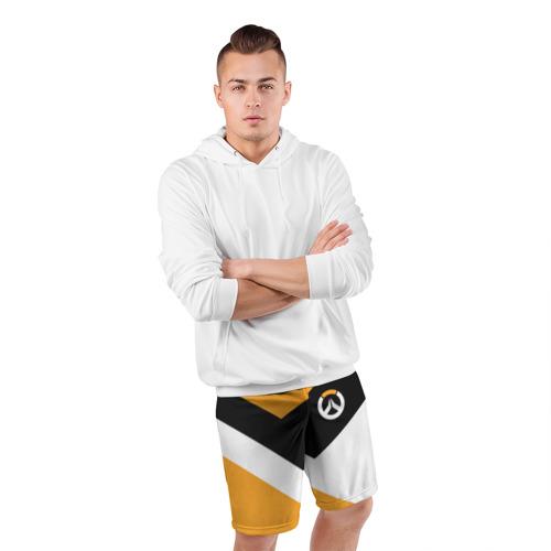 Мужские шорты 3D спортивные  Фото 05, Overwatch