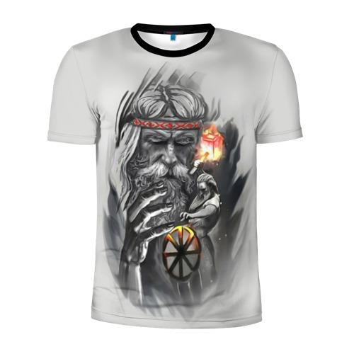 Мужская футболка 3D спортивная Сварог Фото 01