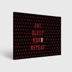 Eat Sleep RDR2 Repeat